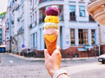 Мороженое в Polverol Киев