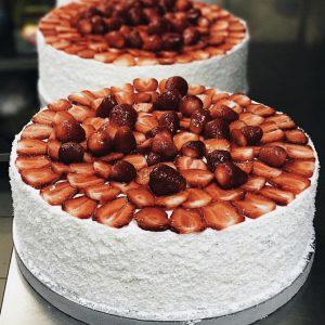 Торт Муссовый Клубнично-йогуртовый вариант 2 в Polverol Киев