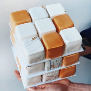 Торт VIP Куб в Polverol Киев вариант 3