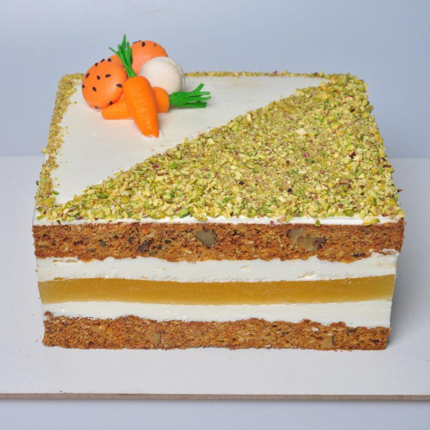 Торт ананас-морковка