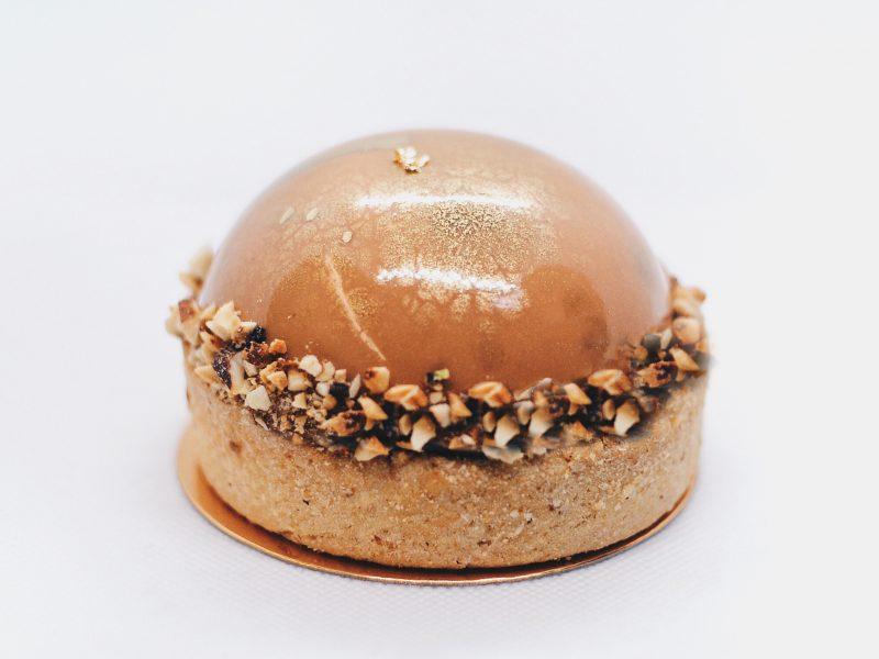 Десерт Юдзу-каламанси в Polverol Киев