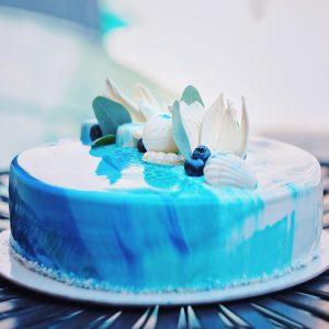 Торт Муссовый Клубнично-йогуртовый вариант 3 в Polverol Киев